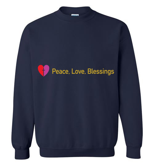 James 3:18, Peacemakers, Crewneck Sweatshirt, S-YL