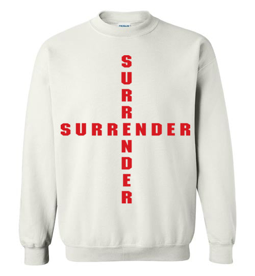 James 4:7, At The Cross, Surrender Crewneck Sweatshirt, S-YL