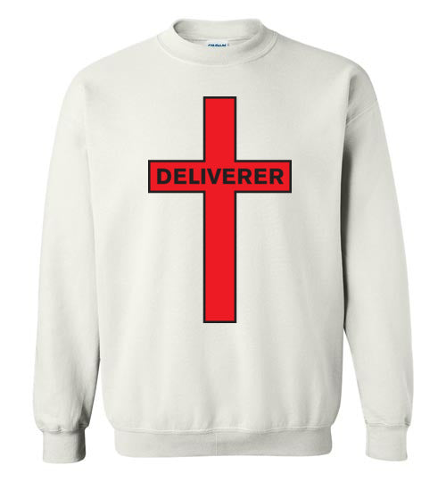 Isiah 53:5, At The Cross, Deliverer Crewneck Sweatshirt, S-YL