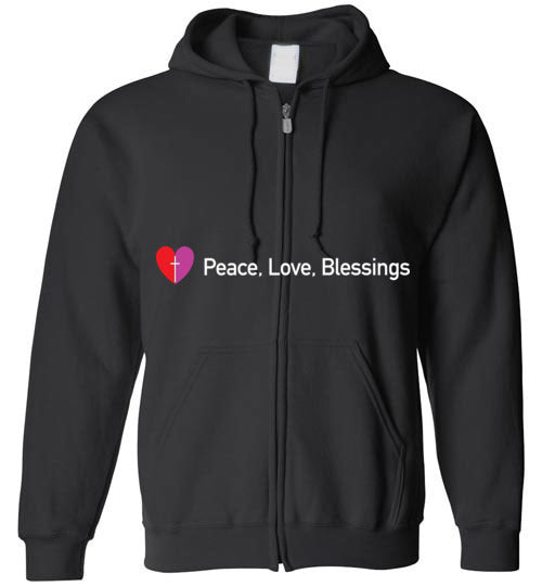 James 3:18, Peacemakers, Zip Hoodie, S-YXL