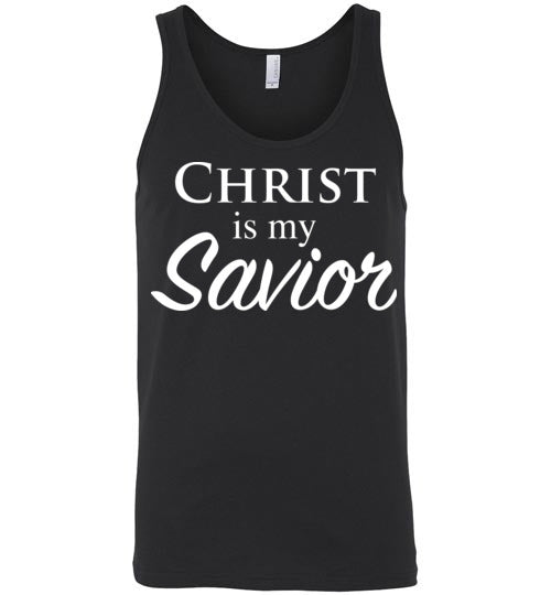 Luke 2:11, Christ is My Savior, Unisex Tank, S-2XL