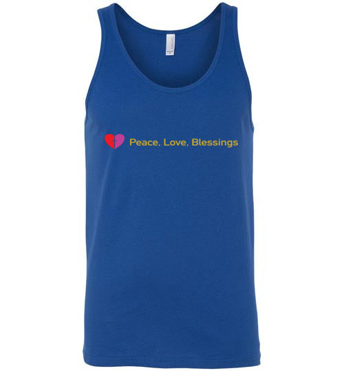 James 3:18, Peacemakers, Unisex Tank, S-2XL