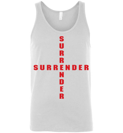 James 4:7, At The Cross, Surrender Unisex Tank, S-2XL