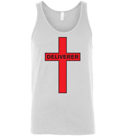 Isiah 53:5, At The Cross, Deliverer Unisex Tank, S-2XL