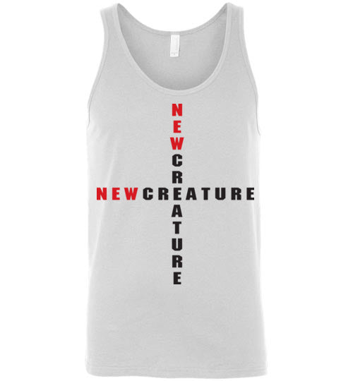 2 Corinthians 5:17, At The Cross, New Creature, Unisex Tank, S-2XL