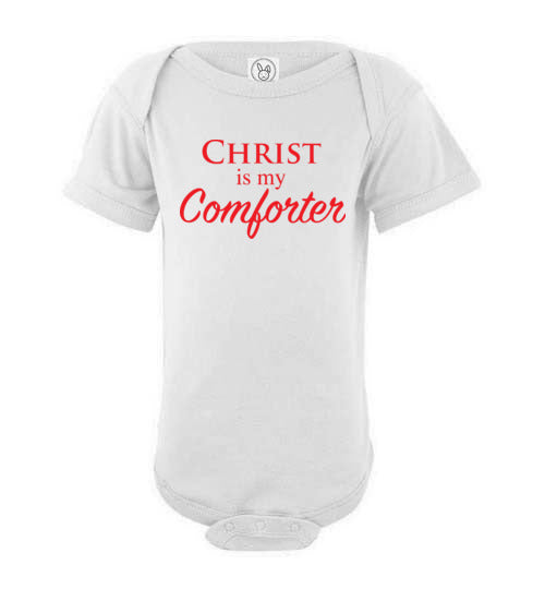Proverbs 22:6, Train Up a Child Comforter, Short-sleeve Onesie, NB-24M