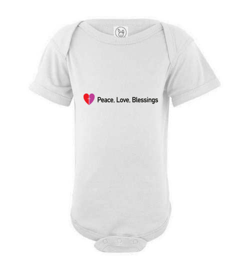 Proverbs 22:6, Train Up a Child Love, Short-sleeve Onesie, NB-24M