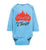 Proverbs 22:6, Train Up a Child, Fired Up for Christ Long-sleeve Onesie, NB-24M