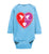Proverbs 22:6, Train Up a Child Love, Long-sleeve Onesie, NB-24M