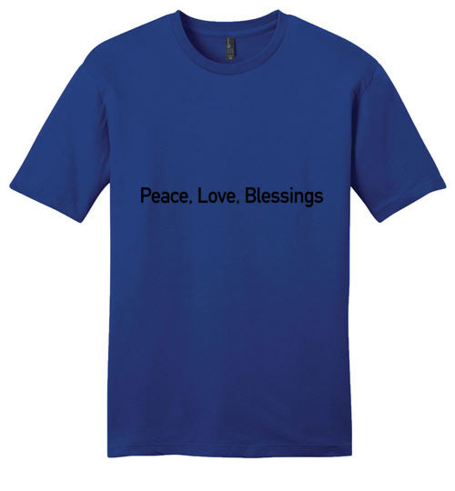 John 14:27, Peace, Young Mens Very Important Tee, XS-4XL