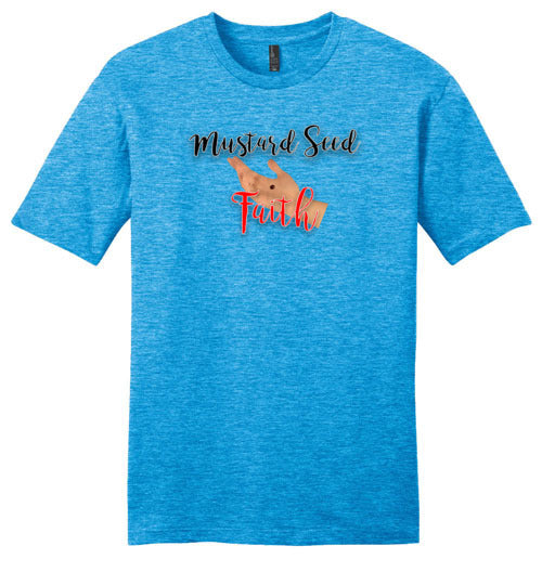 Matthew 17:20, Mustard Seed Faith, Young Mens Very Important Tee, XS-4XL