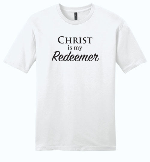 Isiah 47:4, Christ is My Redeemer, Young Mens Very Important Tee, XS-4XL