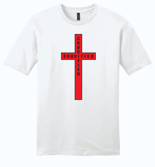 Isiah 53:5, At The Cross, Crucified Young Mens Very Important Tee, XS-4XL