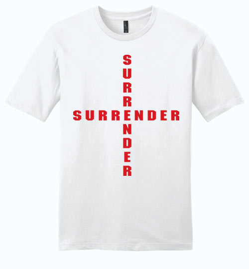 James 4:7, At The Cross, Surrender Young Mens Very Important Tee, XS-4XL