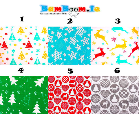 Christmas Fabrics, Creat Own Pillow