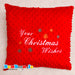 Christmas Cushion with Own Text