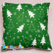 Decorative cushion with Your Christmas Wishes