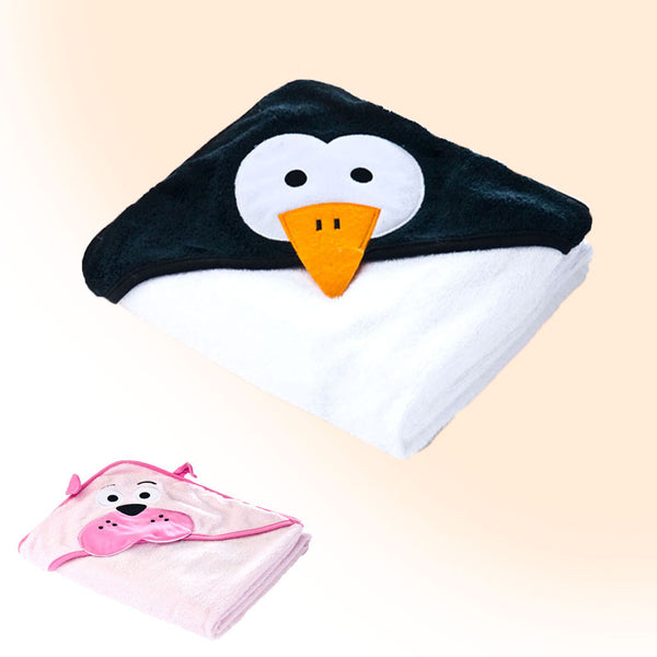 Funny towel with the hood + personalisation