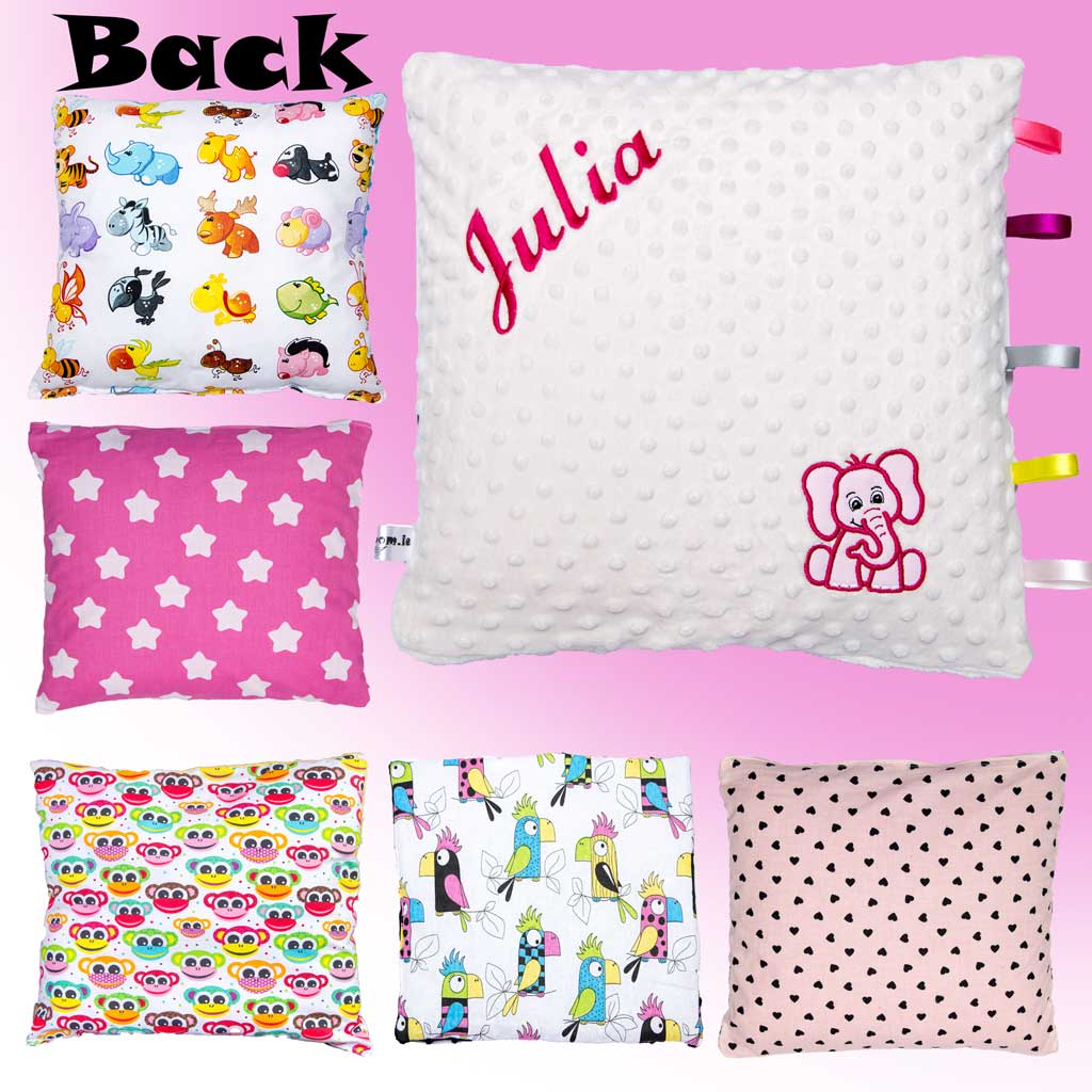 Baby Pillow - Name & Applique