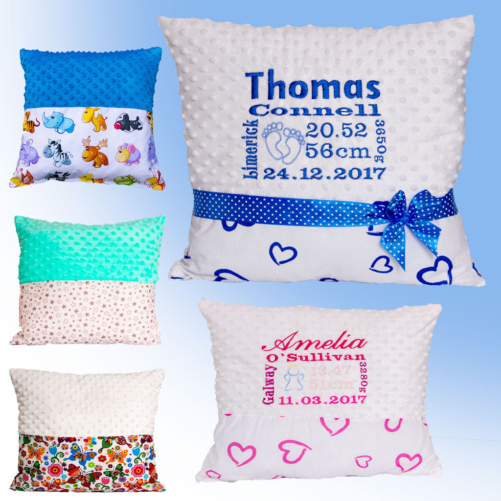 Birth certificate pillow bamboom pillows with baby birth certificate ireland aiddatafo Image collections