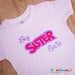 Little Sister Personalised T-shirt
