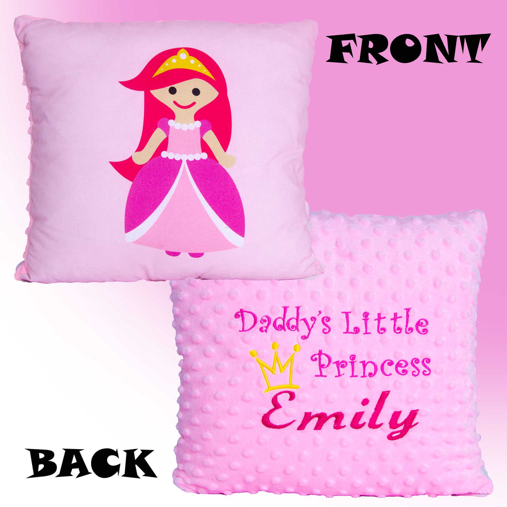 Daddy's, Mummy's, Grandma's, Auntie's etc Princess. - Personalised Pillow
