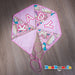 Personalised baby girl bunting