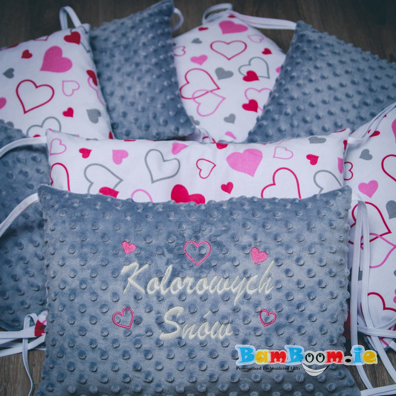 Personalised Bumper Set for a Girl