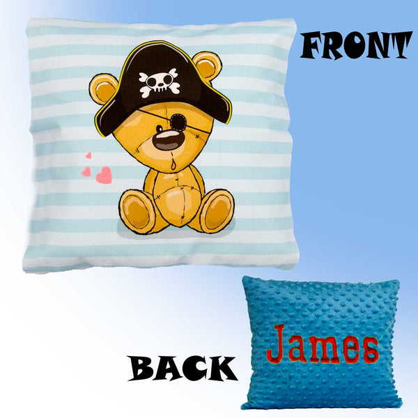 Personalised Teddy Bear Pillow