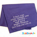 Microfiber Personalised Towel