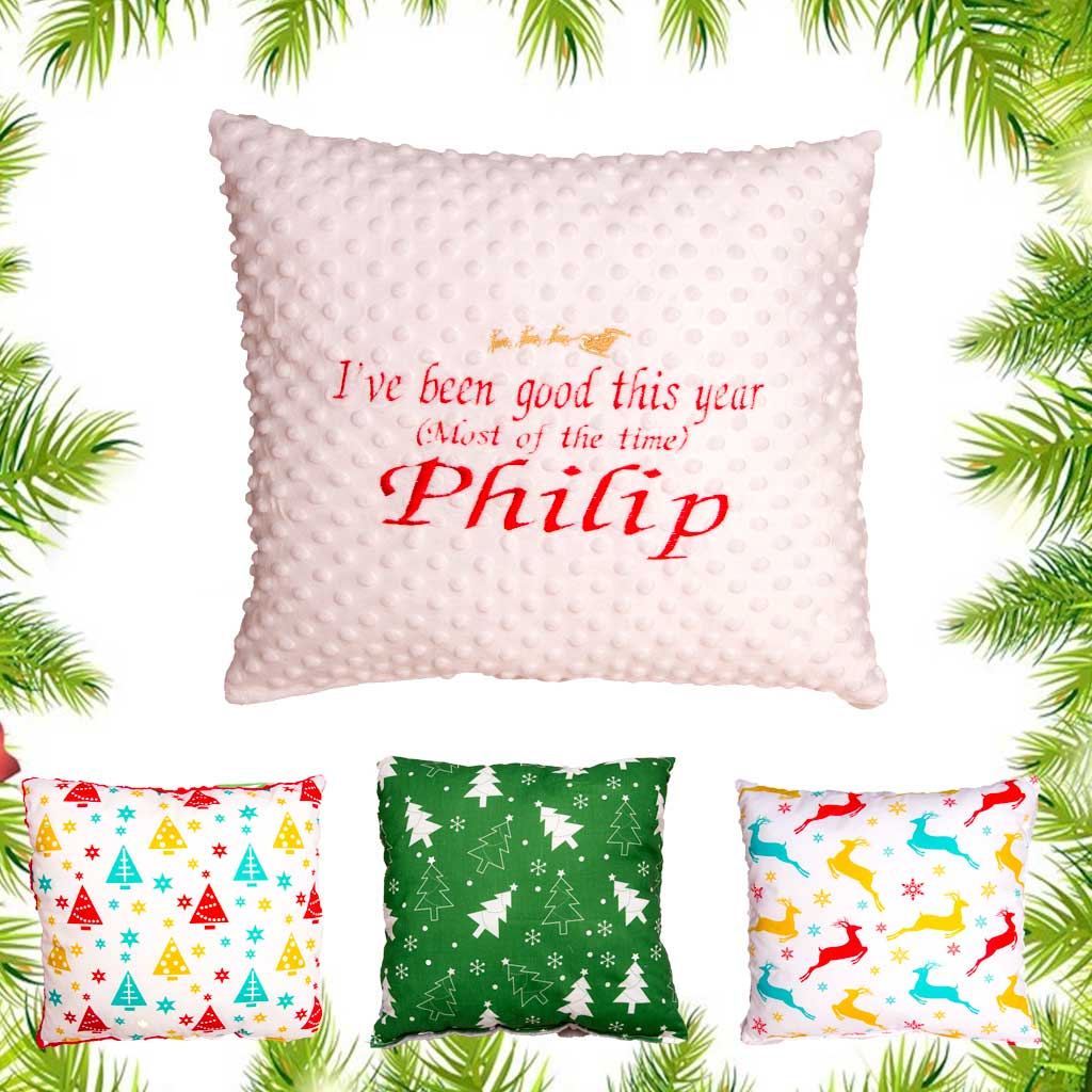Personalised Xmas Pillow