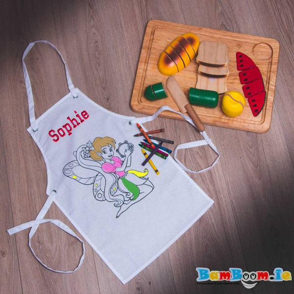 Personalised Apron for girl Ireland