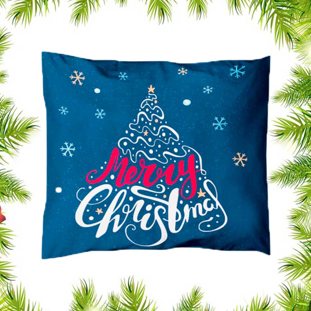 Merry Christmas Personalised Pillow
