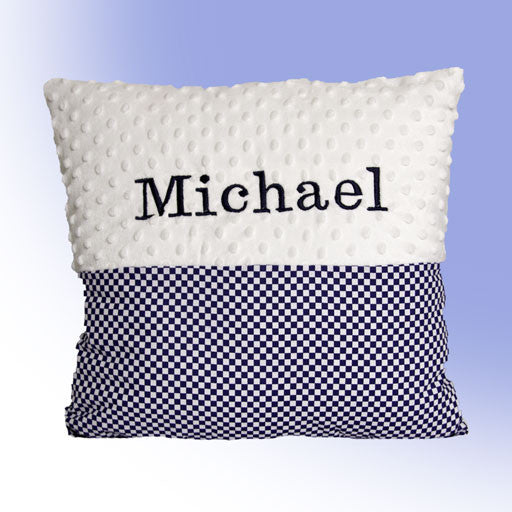 Pillow with name (or add extras)