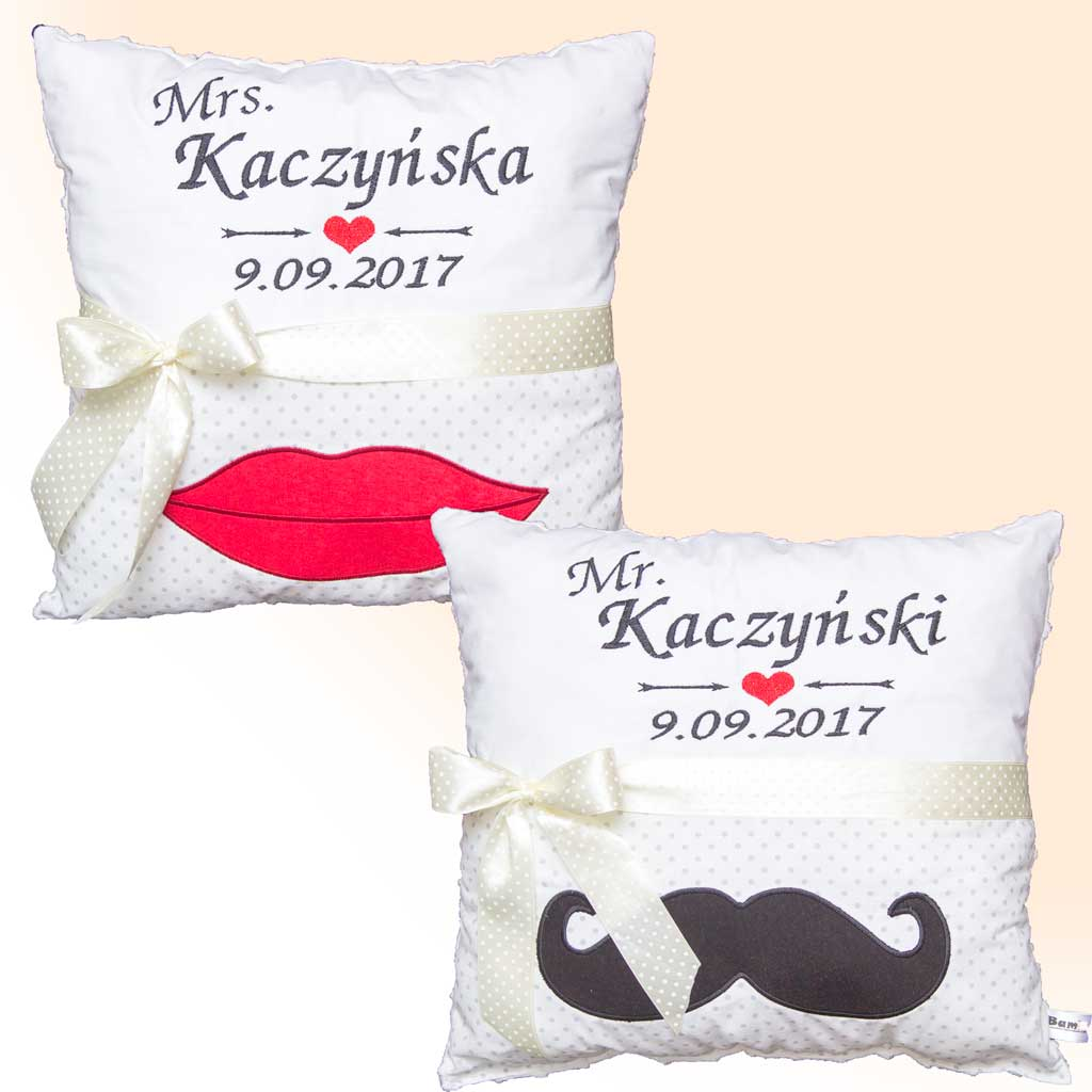 Wedding - Mr and Mrs Pillow Set