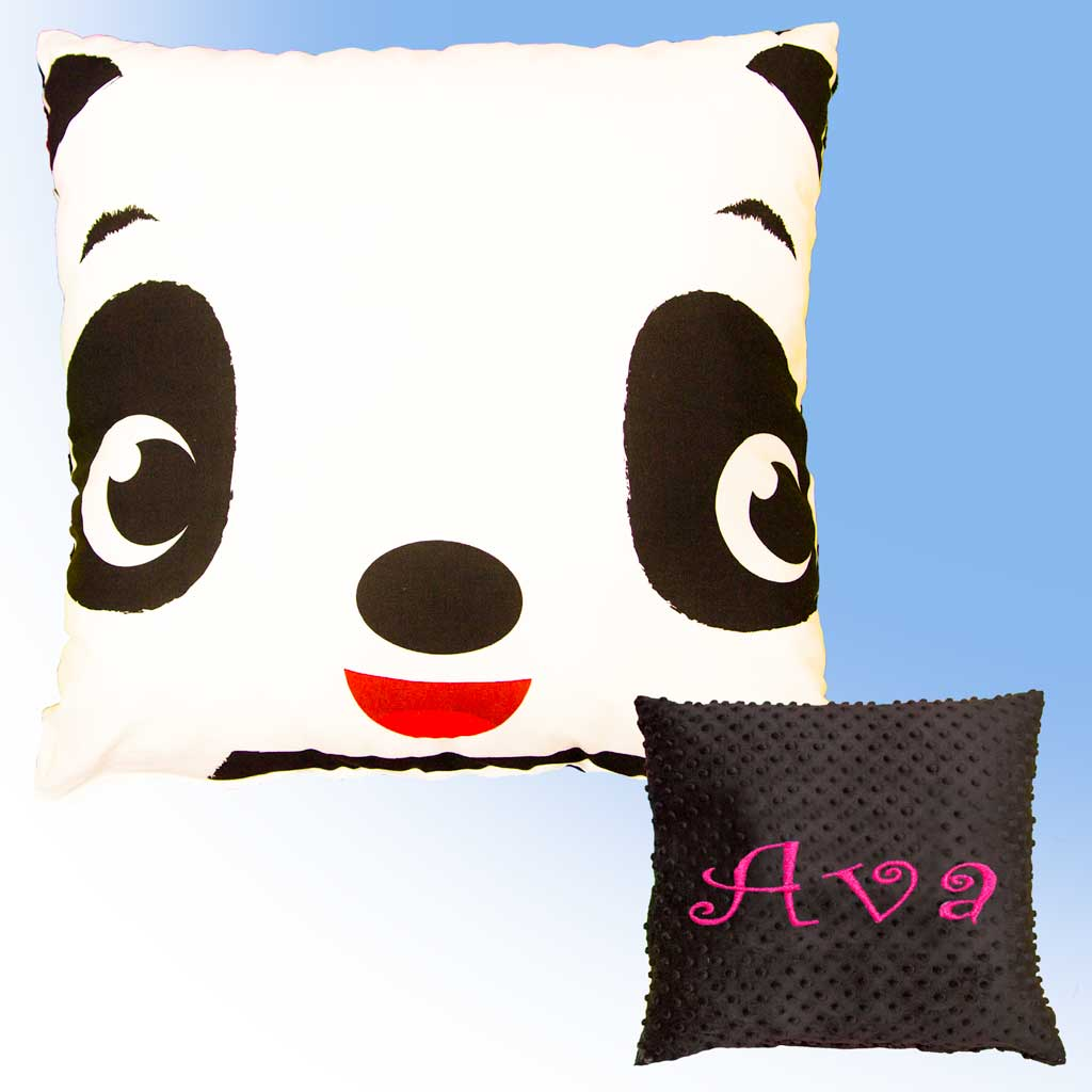 Big Panda Pillow