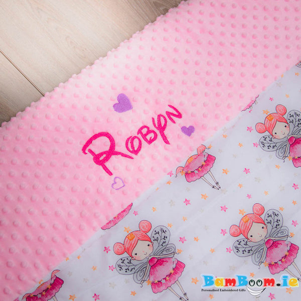Baby girl blanket set - Fairy