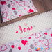 Personalised blanket with hearts ireland