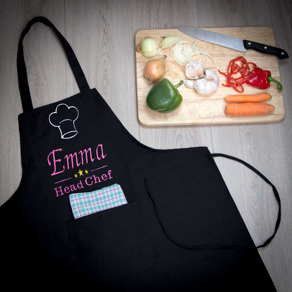 Personalised Apron - Head Chef | BamBoom.ie