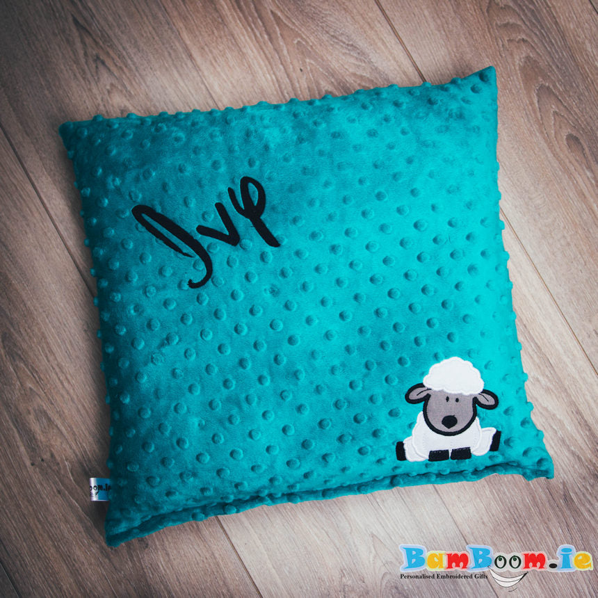 Personalised Baby Pillow with Sheep