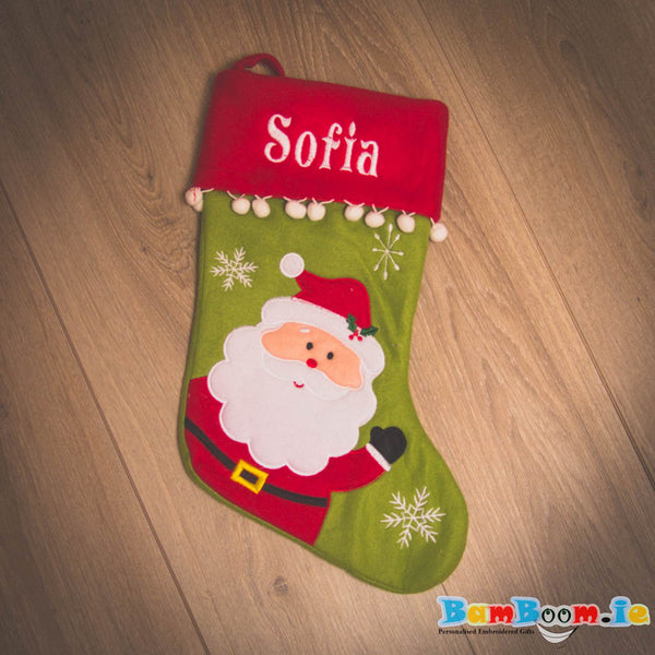 Personalised Christmas Stocking - SANTI