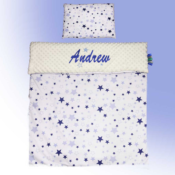 Personalised Baby boy blanket