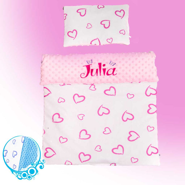 Personalised Baby Girl Blanket