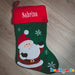 Personalised Christmas Stocking - SANTA