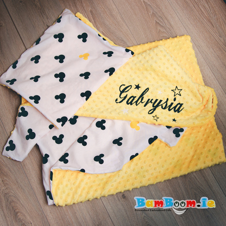 Personalised Baby Duvet Cover Set