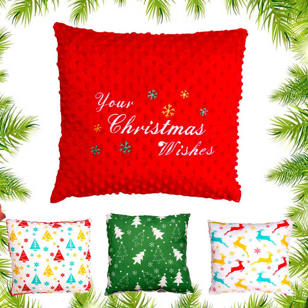 Perosnalised Christmas Pillow