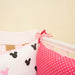 Personalised Pink Cot/Crip Set for Girl