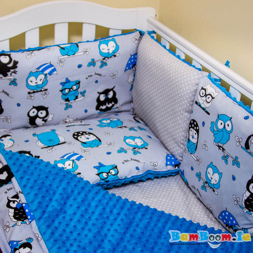 boy cot set handmade ireland