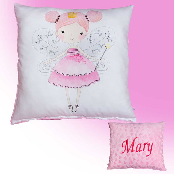Pillow with baby name