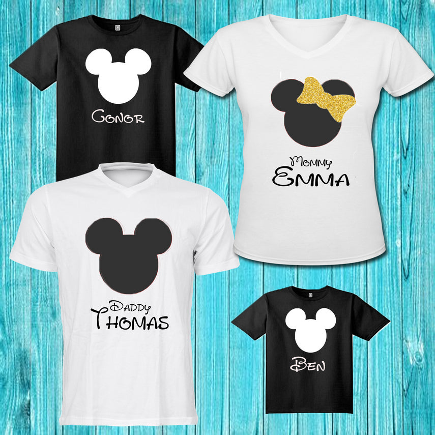 Personalised Family Pack T-Shirts